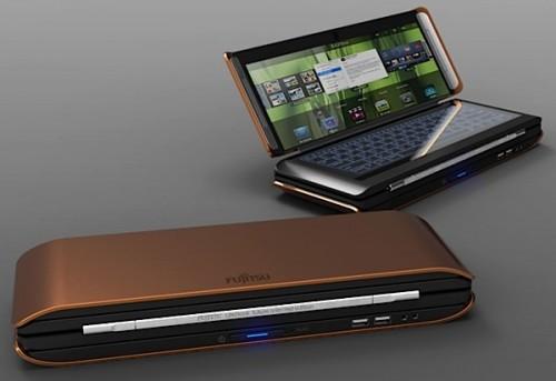 концепт ноутбука Fujitsu Lifebook X