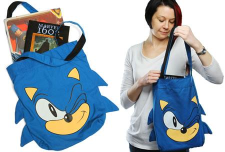 прикольная сумка Sonic