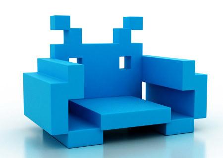 кресло Space Invader