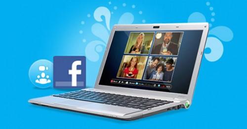 Facebook друзья в Skype