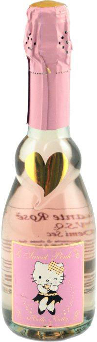 розовое шампанское Hello Kitty