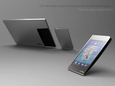 концепт планшетник+телефон