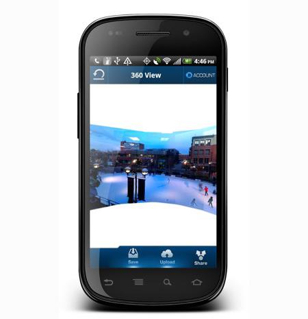 Android приложение 360 Panorama