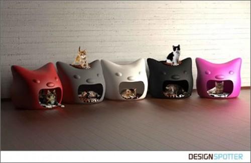 кошачий домик Kitty Meow