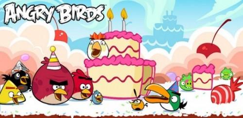 День Рожденья Angry Birds