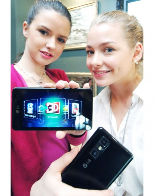 смартфон LG Optimus 3D Max