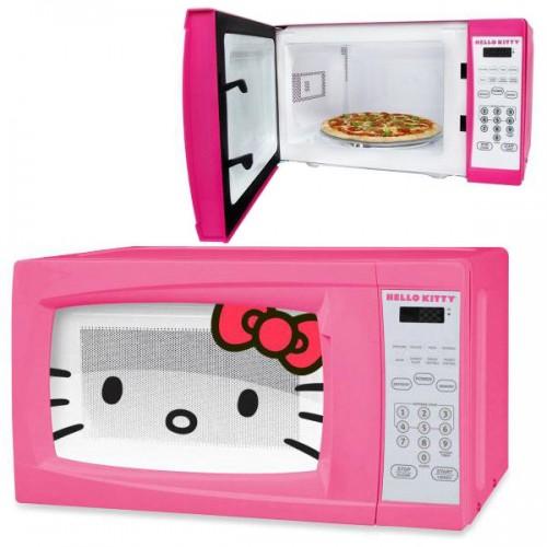 микроволновка Hello Kitty