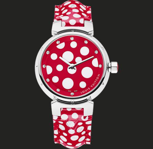 наручные часы Louis Vuitton Tambour в горошек