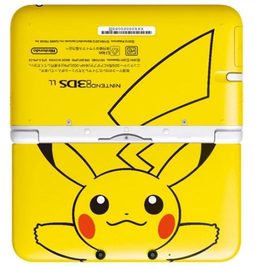limited edition приставка 3DS LL Pikachu