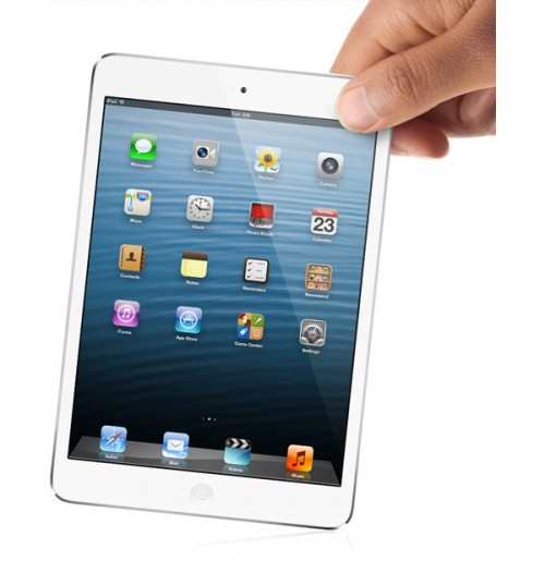 белый Apple iPad Mini