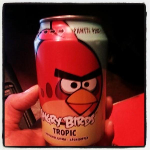 газировка Angry Birds от Rovio