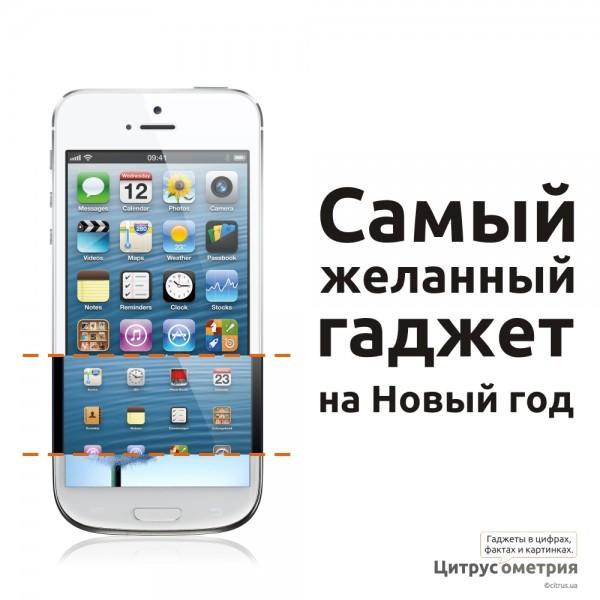iPhone 5 на Новый Год