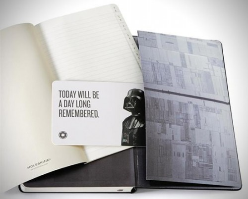 Star Wars Moleskine 2013