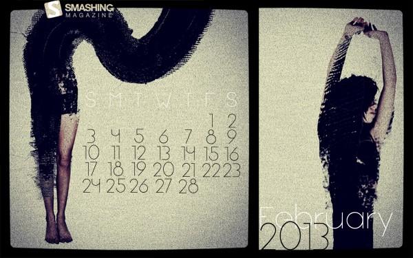 стильные обои февраль 2013
