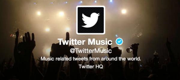 музыкальное приложение Twitter Music
