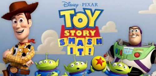Мобильная игра Toy Story: Smash It!