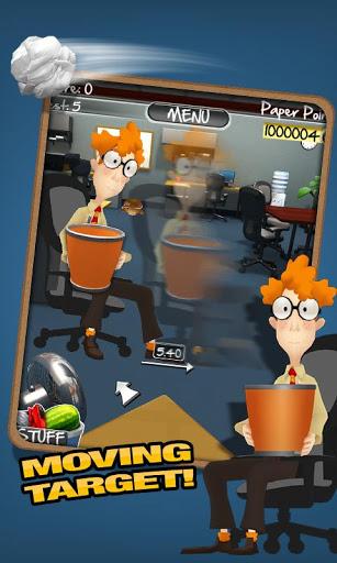 игра Paper Toss 2.0 на Android