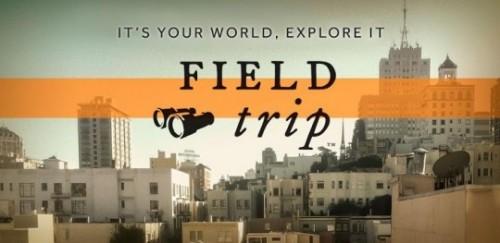 приложение Field Trip для Android