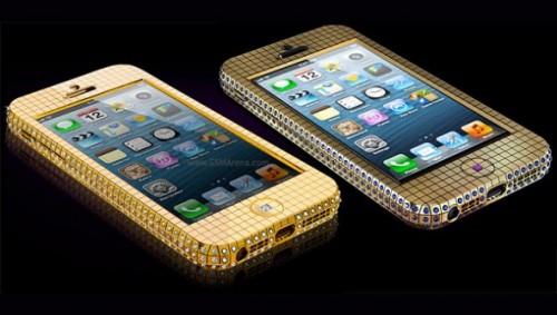 iPhone 5 в золоте и бриллиантах