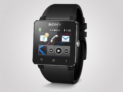 Часы Sony SmartWatch 2