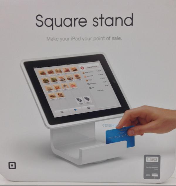 платежная система Square Stand для iPad