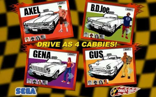 игра Crazy Taxi для Android
