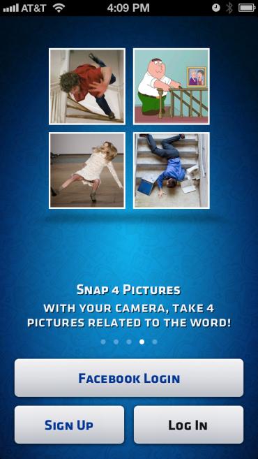 игра 4Snaps для iOS
