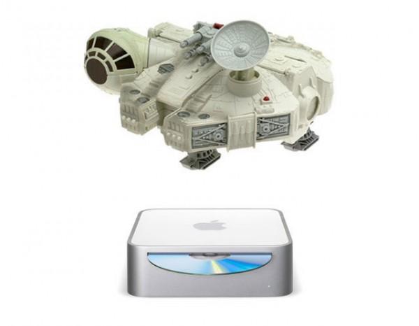Mac Mini мод Millenium Falcon