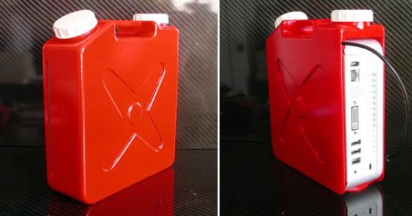 мод Mac Mini в канистре