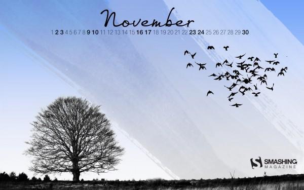 прикольные обои осень 2013