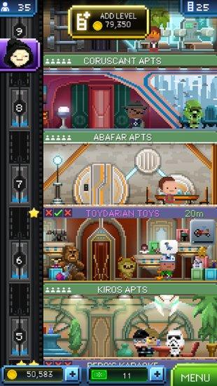 мобильная игра Tiny Death Star