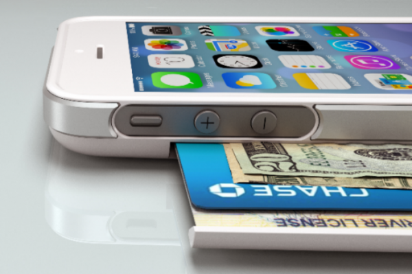 чехол-кошелек Push для iPhone