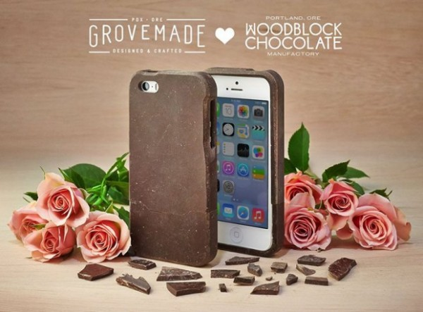 чехол на iPhone из настоящего шоколада