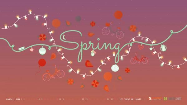 красивые обои весна 2014
