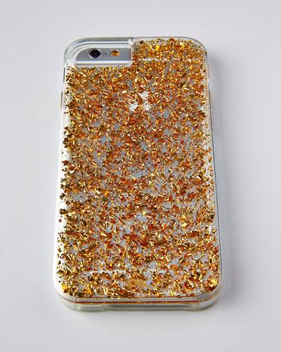 чехол на iPhone 6 с 24-каратным золотом