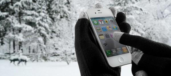 защитить смартфон от холода