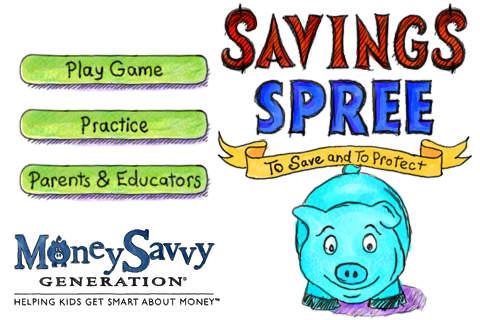 приложение для детей Savings Spree