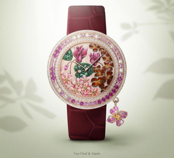 часы Charms Extrordinaire от Van Cleef and Arpels