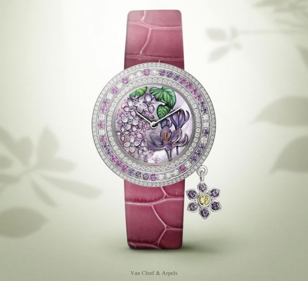 часы Charms Extrordinaire от Van Cleef and Arpels