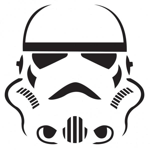 шаблоны Star Wars для вырезания тыквы